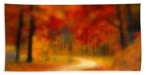 Autumn's Promise Bath Towel