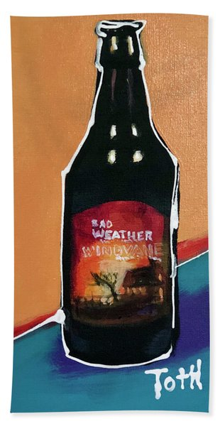 Bad Weather Hand Towel