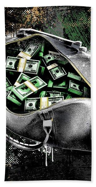 Bag-o-money Hand Towel