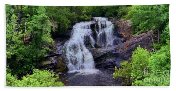 Bald River Falls, Tenn. Hand Towel