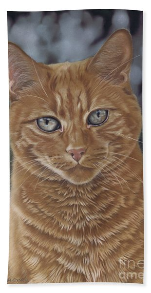 Barry The Cat Hand Towel