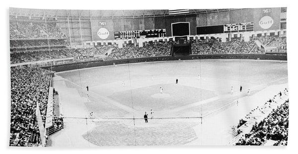 Baseball: Astrodome, 1965 Hand Towel