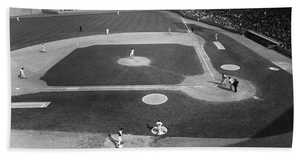 Baseball Game, 1967 Bath Towel