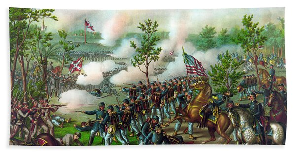 Battle Of Atlanta Hand Towel