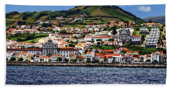Bay Of Horta Hand Towel