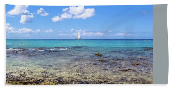 Bayahibe Coral Reef Bath Towel