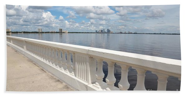 Bayshore Boulevard Balustrade Bath Towel
