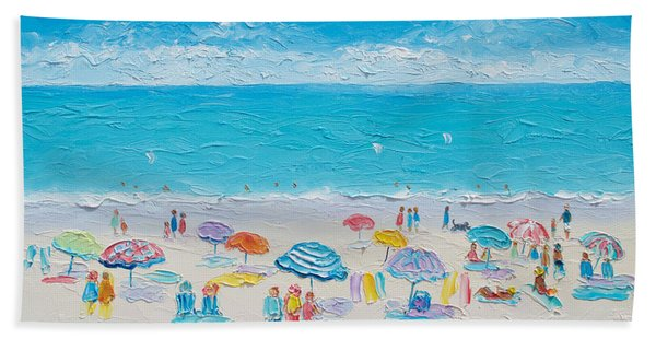 Beach Art - Fun In The Sun Hand Towel