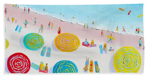 Beach Painting - The Simple Life Hand Towel