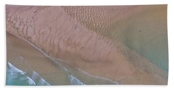 Beach Patterns At North Point On Moreton Island Hand Towel
