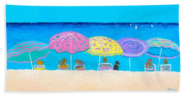 Beach Sands Perfect Tans Hand Towel