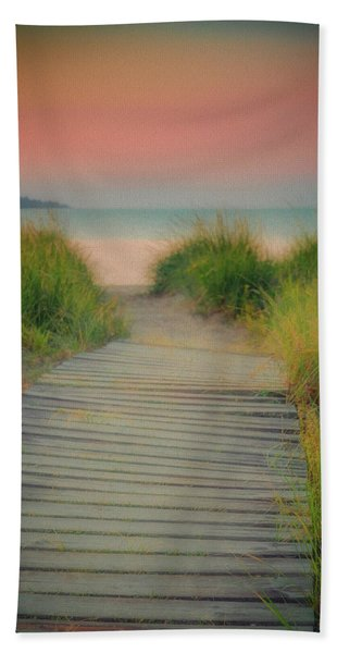 Beach Sunrise Hand Towel