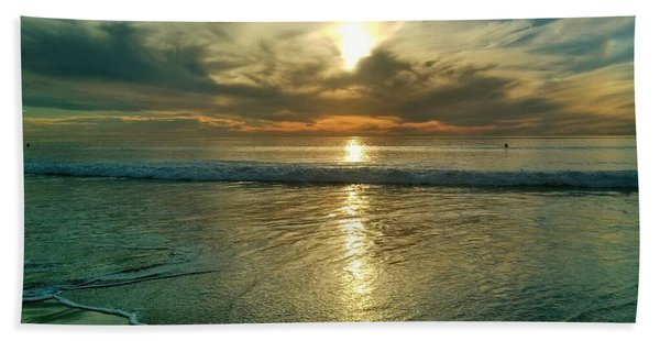 Beach Sunset Hand Towel