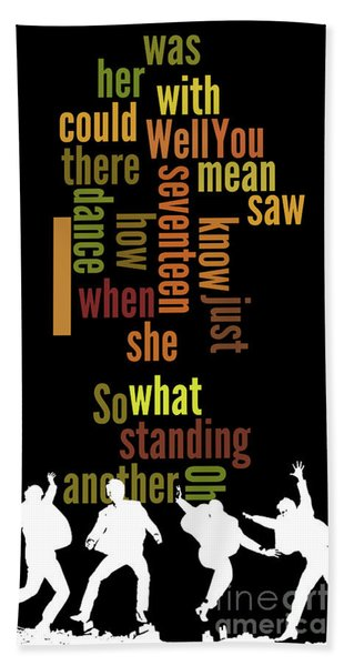 Beatles, Can You Guess The Name Of The Song? Game For Music Fans.i Saw Her Standing There Hand Towel