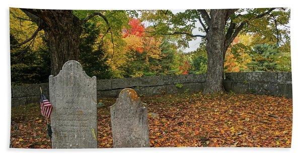 Benjamin Butler Grave Hand Towel