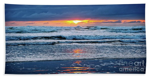 Between The Sky And The Waters Hand Towel