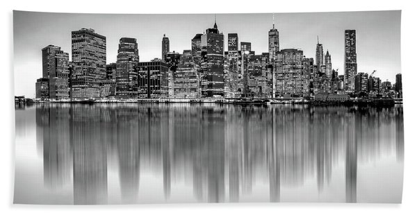 Big City Reflections Bath Towel