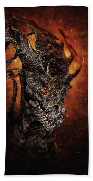 Big Dragon Hand Towel