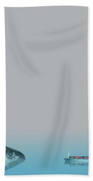 Big Fish Hand Towel