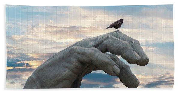 Bird On Hand Hand Towel