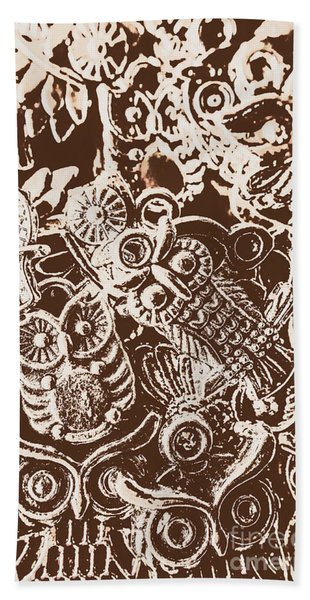 Birds From The Old World Hand Towel