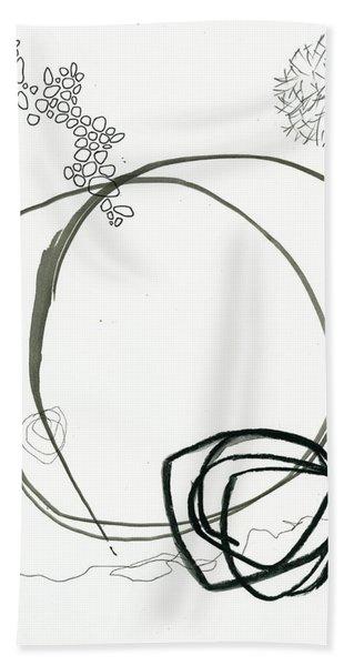 Black And White # 13 Bath Towel