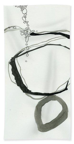 Black And White # 22 Bath Towel