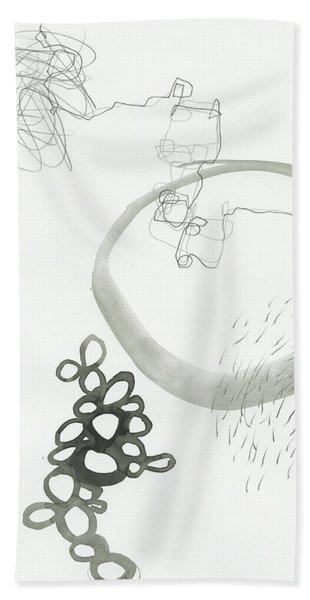 Black And White # 23 Bath Towel