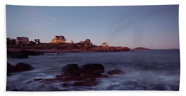 Blue Hour In Gloucester Hand Towel