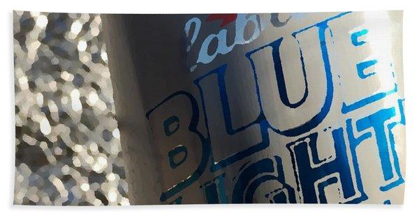Blue Light Bath Towel