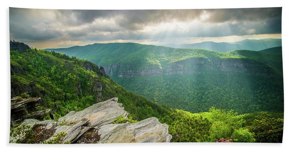 Blue Ridge Mountains Nc Gorge-ous Light Hand Towel