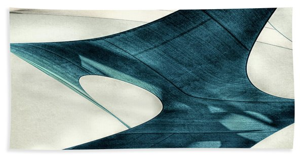 Blue Sails Bath Towel