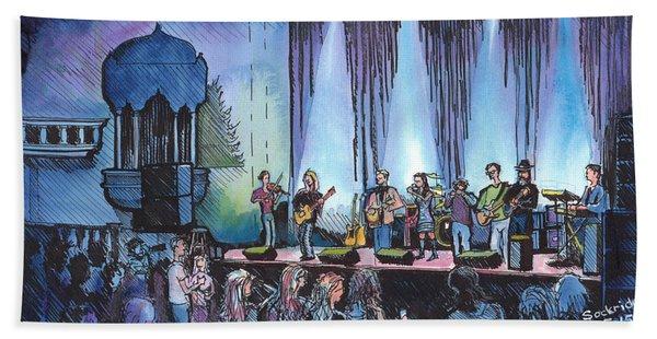 Bob Dylan Tribute Show Bath Towel