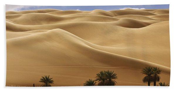 Breathtaking Sand Dunes Hand Towel
