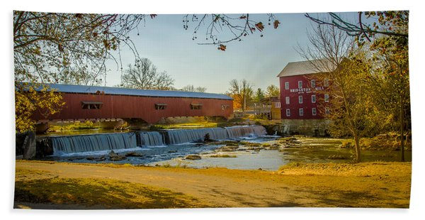 Bridgeton Mill Covered Bridge Bath Towel