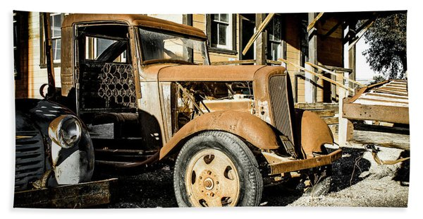 Vintage 1935 Chevrolet Bath Towel