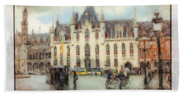 Bruges, Belgium Bath Towel