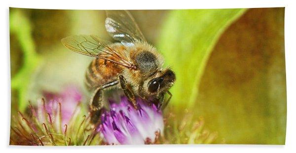 Bumbling Bee Bath Towel