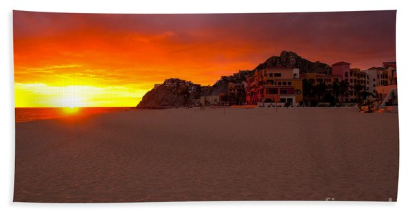 Cabo Sunset Hand Towel