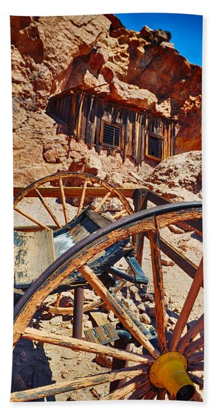 Calico Ghost Town Mine Bath Towel
