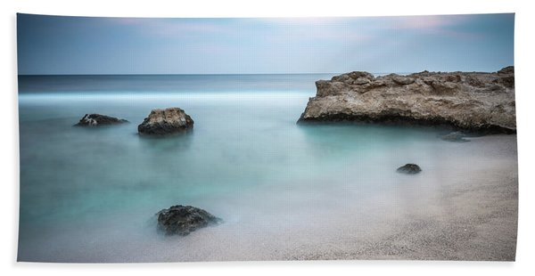 Calm Red Sea 1x1 Hand Towel