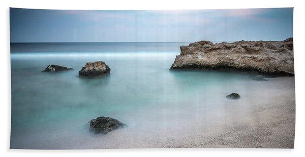 Calm Red Sea 1x1 Bath Towel