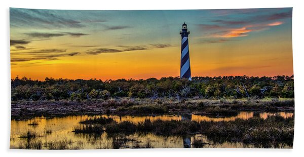 Cape Hatteras Lighthouse Bath Towel