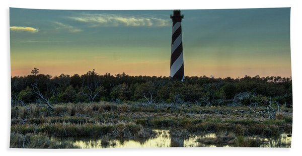 Cape Hatteras Sunset Bath Towel