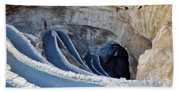 Carlsbad Caverns Natural Entrance Hand Towel