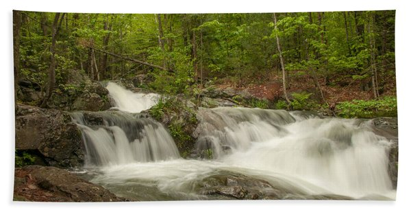 Cascades On The Brooks Falls Trail Hand Towel