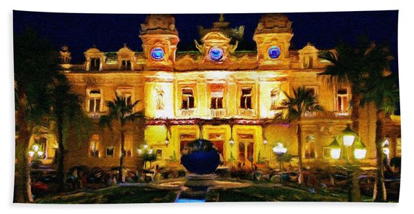 Casino Monte Carlo Hand Towel