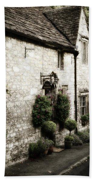 Castle Combe Old Tea Room Hand Towel