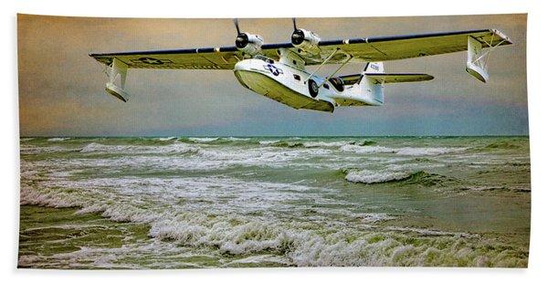 Catalina Flying Boat Bath Towel