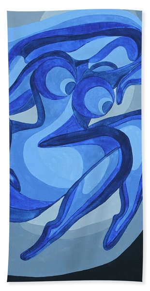 Celibacy Blues Bath Towel